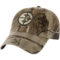 0850903d0 '47 Brand Pittsburgh Steelers Franchise Fitted Hat - Realtree Camo