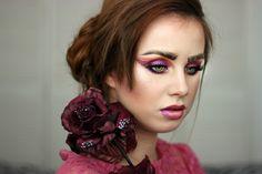 experiment rose brows violet makeup Brows, Halloween Face Makeup, Make Up, Experiment, Eyebrows, Eye Brows, Makeup, Beauty Makeup, Brow