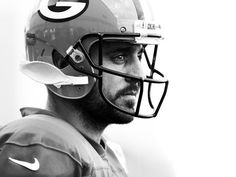 Green Bay Packers quarterback Aaron Rodgers during