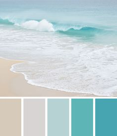 tickle the imagination: {colour inspiration} ocean spray
