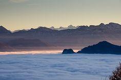 Hory Príroda, Cloud, Letecký Pohľad