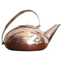 The Copper Kettle by Carl Aubock | From a unique collection of antique and modern more dining and entertaining at http://www.1stdibs.com/furniture/dining-entertaining/more-dining-entertaining/
