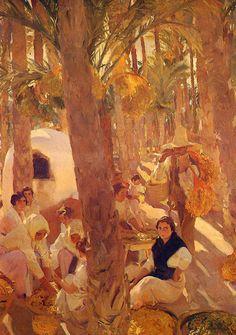 Galeria del Artista Joaquín Sorolla y Bastida
