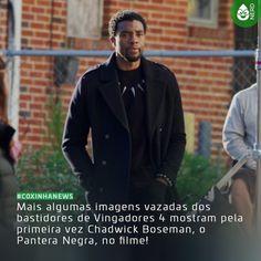 #CoxinhaNews Pelo menos sabemos que ele está vivo e inteiro!  #TimelineAcessivel #PraCegoVer  Foto do T'Challa (Chadwick Boseman) nos bastidores de Vingadores 4 com a notícia: Mais algumas imagens vazadas dos bastidores de Vingadores 4 mostram pela primeira vez Chadwick Boseman o Pantera Negra no filme!  TAGS: #coxinhanerd #nerd #geek #geekstuff #geekart #nerd #nerdquote #geekquote #curiosidadesnerds #curiosidadesgeeks #coxinhanerd #coxinhafilmes #filmes #movies #cinema #euamocinema…