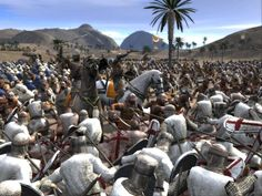 View the Mod DB Medieval II: Total War: Kingdoms image In-game Kingdom Of Jerusalem, Serial Port, Total War, Windows Xp, Mount Rushmore, Medieval, Activities, Pc Games, Travel