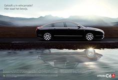 C6 Reincarnation Dutch adverts