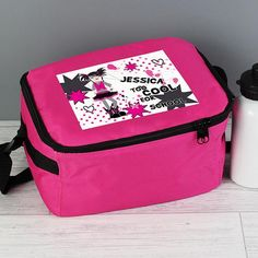 Personalised Pink Lunch Bag - Too Cool