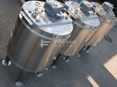 Proses Tankı - Proses Reçete Oluşturma Tankı (3 ton) | Füzyon Makina