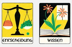 Zeit Campus - Academic Oracle Oracle Cards, Tarot Cards, Art Direction, Graphic Design, Illustration, Knowledge, Tarot Card Decks, Illustrations, Tarot