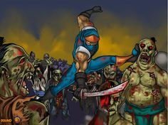 Regresa la parte 2 de este juego donde los Ninjas son los encargados de eliminar a los Zombies. http://www.ispajuegos.com/jugar7662-Ninja-Vs-Zombies-2.html