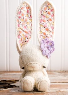 No longer available on Etsy. Such a bummer. Crochet Amigurumi Rabbit - Cute ears!