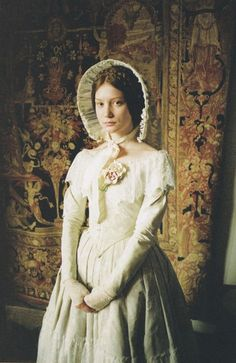 """Mia Wasikowska as Jane Eyre in Lula Magazine """" """"I am no bird ; and not net ensnares me : I a a free human being with an independent will"""" (Charlotte Brontë, Jane Eyre) """" Jane Austen, Mia Wasikowska, Charlotte Bronte, Period Costumes, Movie Costumes, Jane Eyre 2011, Divas, Little Dorrit, Period Movies"""