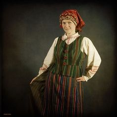 Samogitian folk costume, Lithuania
