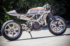 Roland Sands Designs KTM Cafe Racer.