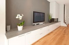 Iprocom Interior design and bespoke furniture, Low wall with fire placebespoke Living Room Cupboards, Consoles, Living Room Decor, Living Spaces, House Extensions, Bespoke Furniture, Cabinet Makers, Tv Cabinets, Entertainment Center