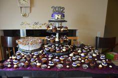 graduation cakes, cupcakes, cakepops