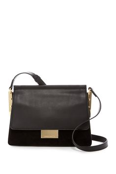 Abril Leather Shoulder Bag
