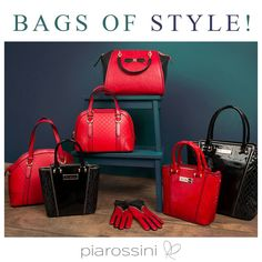 Black and Red Handbags