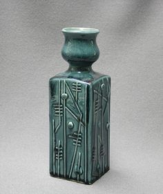 Kupittaan Savi vase click the image for more details. Ceramic Pottery, Pottery Art, Buy Tile, Hand Built Pottery, Antique Glass, Retro Design, Vintage Ceramic, Clay Art, Scandinavian Design