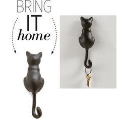 Bring It Home: Black Cat Wall Hook