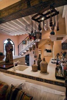 Townhouse in Mexico, Stunning Home on Callejon Blanco, San Miguel De Allende, Mexico.