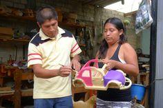 La Familia Prudencio: Creativity, Copal, Carving and Color