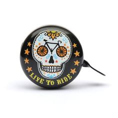 """Beep """"Live to Ride"""" Bicycle Bell designed by Trevor Dickinson"""