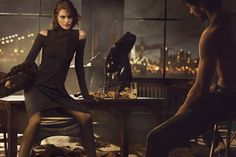 donna karan ads   labels ad campaign catherine mcneil dkny mikael jansson