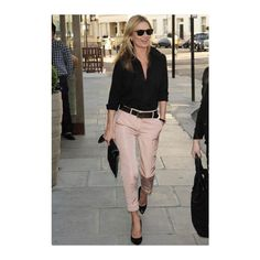 Yass to @__katemoss & powder pink spring pants ✔️✔️ New arrivals of @piazzasempione & @fabianafilippi trousers now in store! #NewCollection #PinkSpring