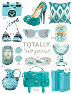 Turquoise has been my fave color for the longest!