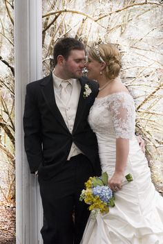A snowy spring wedding for for Rachel & Chris @ Greenpond Country Club - by Reflections Creative Photography