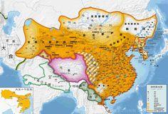 唐朝時期全圖