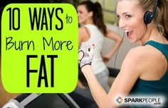Burn More Calories in Less Time via @SparkPeople