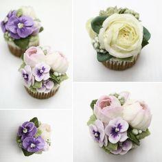 [BUTTERBE] Buttercream Flower Class_ Advanced course_ . #butterbe #buttercreamflower #buttercreamcake #cupcakes #flower #floral #floralcake #koreancake #korea #delicious #muffin #pansy #peony #rose #butterflower #cake #instacake #cakestagram #dessert #yummy