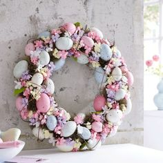 Easter Decoration Wreath