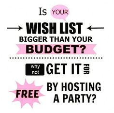 Party with me to get our free goodies!! PRwithCaitlin@gmail.com