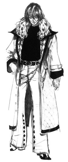 Soma Cruz Sketch from Castlevania: Aria of Sorrow