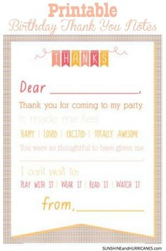 Thank you letter for kids tips tricks kids pinterest free looking for a cute and simple way to take care of thank you notes for a altavistaventures Choice Image