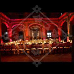 Velas - candles - cenas - montaje