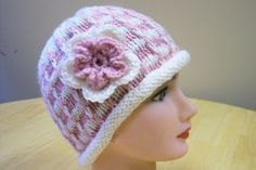 Hand Knit Baby Hat by hendersonmemories on Etsy, $35.00