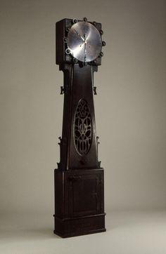 Tall clock, ca. 1900  Charles Rohlfs (American, 1853–1936)  Oak, copper