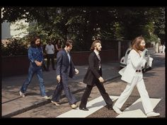 THE BEATLES Abbey Road Walk