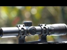trijicon accupoint tr24 1 4x24 30mm riflescope with bac triangle