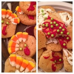 How do turkey cookies turn into that? #pinterestfail