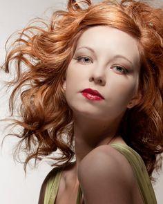 Apricot hair love! @Kate Munson