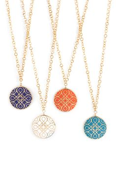 'Eclectic Mosaic' Long Statement Pendant Necklace - Nordstrom