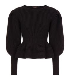 Burberry Runway Peplum Wool-Cashmere Sweater available to buy at Harrods. Shop designer women's knitwear online and earn Rewards points.