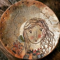 Miniplato cerámica...