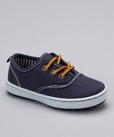 Love this OshKosh B'gosh Navy Wade Sneaker by OshKosh B'gosh on #zulily! #zulilyfinds