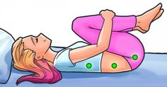 Négy testhelyzet, aminek segítségével ellazulhatnak hátizmaink, ezáltal úgy alszunk majd, mint egy csecsemő